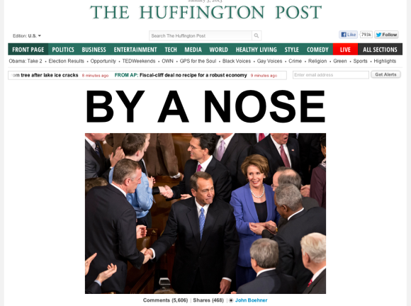 Huffington Post Front Page